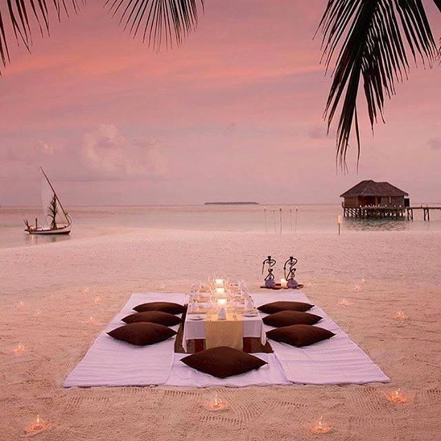 paraiso cena en la playa